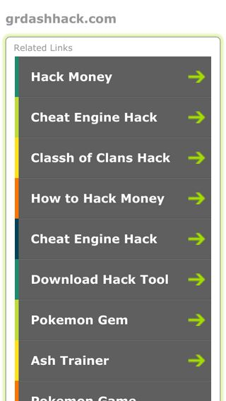 Mobile screenshot of Grdashhack.com