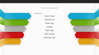 Screenshot of Pokemembers.com main page