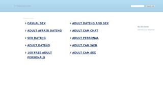 Screenshot of 111sexcam.com main page