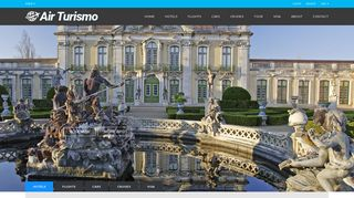 Screenshot of Airturismo.com main page