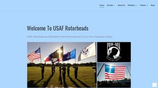 Screenshot of Rotorheadsrus.com main page