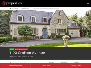 Screenshot of 1190croftonave.info main page