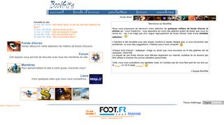 Screenshot of Boolsite.net main page