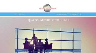Screenshot of Q-a.design main page