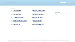 Screenshot of Vioozwatch32movies.org main page