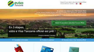 Screenshot of Afrique-a-paris.com main page