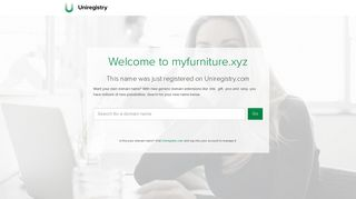 Screenshot of Myfurniture.xyz main page