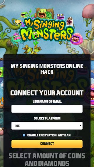 Mobile screenshot of Mysingingmonstersgiveaways.top