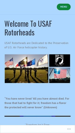 Mobile screenshot of Rotorheadsrus.com